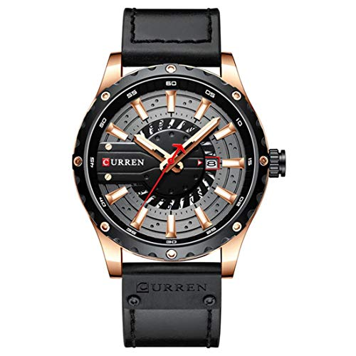 Curren Women Men Unisex Reloj De Pulsera Sporty-Casual Alloy Quartz Analogous 8374