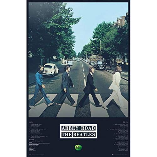 "GB Eye 61x 91,5cm ""The Beatles, Abbey Road Tracks Maxi-Poster"