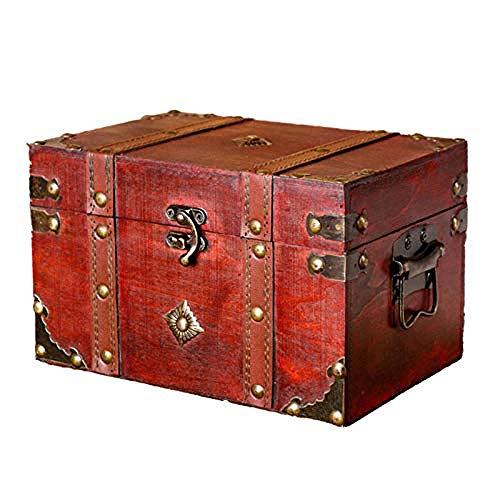 WYBFZTT-188 Jewelry Box- Large Jewelry Organizer Wooden Storage Box Layers Case with Drawers