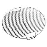 N \ A Rejilla Ovalada para Hornear y Rejilla de enfriamiento para Olla a presión, Olla a presión, Fabricada en Acero Inoxidable, Apta para Horno y lavavajillas (17,5 Pulgadas)
