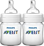 Philips Avent Classic - Biberón SCF560/27 (125 ml/4 oz) x 2