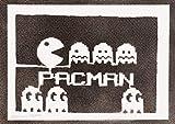 Poster Pac-Man Arcade Handmade Graffiti Street Art - Artwork