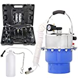 YSTOOL Professional Brake and Clutch Fluid Bleeder Tool Kit with Pneumatic Air Pressure Brake Oil Exchanger Machine Master Cylinder Adapters and Collection Bottle