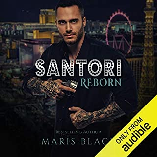 Santori Reborn audiobook cover art