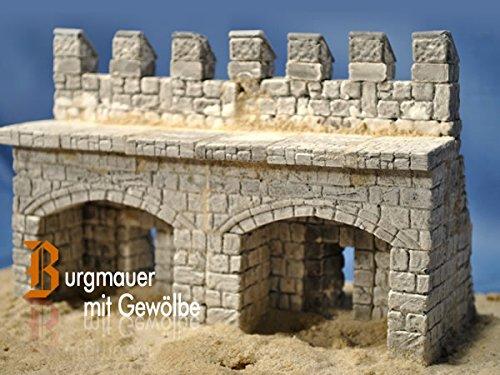 Burgmauer mit Gewölbe, Bausatz