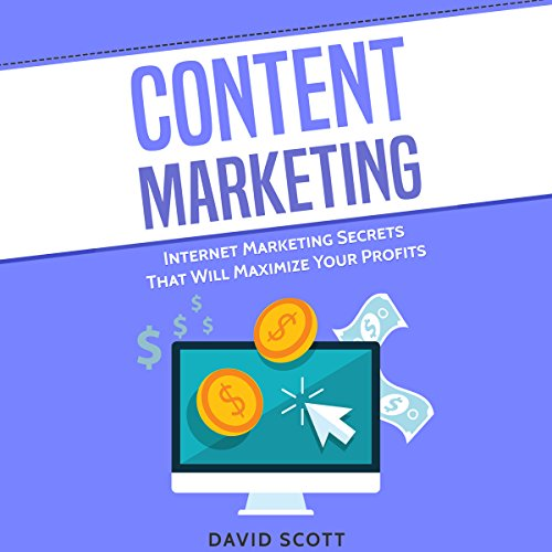 Content Marketing: Internet Marketing Secrets That Will Maximize Your Profits audiobook cover art