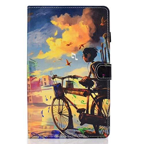 Case voor nieuwe iPad Pro 11 2020 met potloodhouder, Premium lederen Folio Stand Shell Smart Cover met Auto Sleep/Wake Zachte TPU Bumper Slim Lichtgewicht Beschermhoes voor iPad Pro 11 2020 iPad Pro 11 2020 Fietsjongen