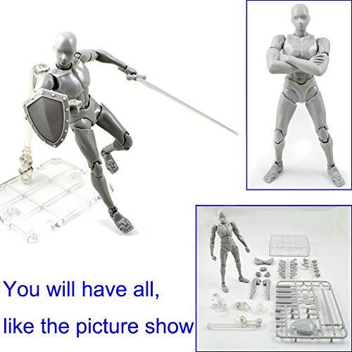 Reuvv 2.0 Figura de Acción Modelo para SHF Cuerpo Kun Muñeca PVC Body-Chan DX Juego Body-Chan Modelo para SHF Regalos - Macho