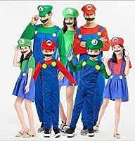 ハロウィン衣装 子供用 仮装 ハロウィーン コスプレ キッズcosplay 2色(レッド、グリーン)サイズ(男の子用S、M、L、女の子用S、M、L、メンズS、M、L、XL、レディースS、M、L、XL)