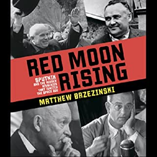 Red Moon Rising audiobook cover art