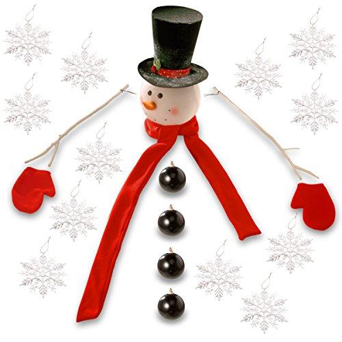 National Tree Snowman Kit Tree Dress Up