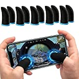 ⦿ Material: Made of conductive fiber and spandex ⦿ high quality carbon fiber material, the finger sleeve is soft, ultra-thin, non-slip, anti-drop, anti-oil, ⦿ Compatibility: These mobile game finger sleeve support almost all games on Android or iOS p...