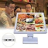 Monitor de Pantalla Táctil LED Blanco de 17'con Sistema de POS POS de Posición Múltiple en Restaurante/Bar/Tienda