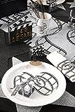 5 Platz-Karten / Tisch-Karten / Namens-Kärtchen Filmklappen Motto-Party Hollywood / Themen-Party Movie Film Kino – 5 Stück / Party-Deko / Geburtstags-Feier / Geburtstags-Deko / Tisch-Ordnung - 2