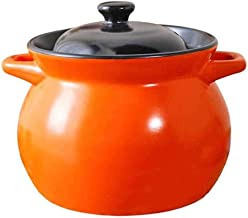 WZWHJ High Temperature Resistant Earthenware Soup Pot Soup Casserole Ceramic Flame Household Gas Clay Pot for cooking