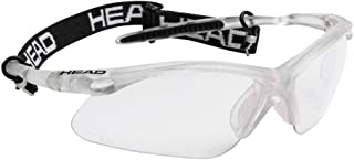 HEAD Racquetball Goggles - Icon Pro Anti Fog & Scratch Resistant Protective Eyewear w/ UV Protection