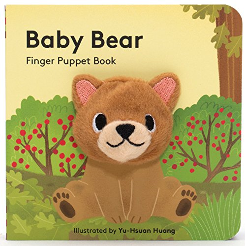 Baby Bear: (Finger Puppet Book for Toddlers and...