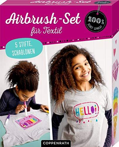 Airbrush-Set für Textil (100% selbst gemacht)