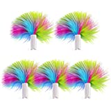 PETBIA Interactive Cat Toy Replacement Feathers, 5-Pack …