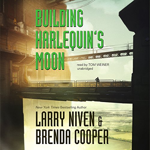 Building Harlequin's Moon audiobook cover art