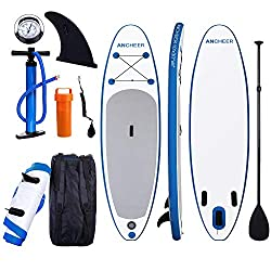 9. ANCHEER 10' - Best Inflatable Inexpensive Paddle Board For Yoga