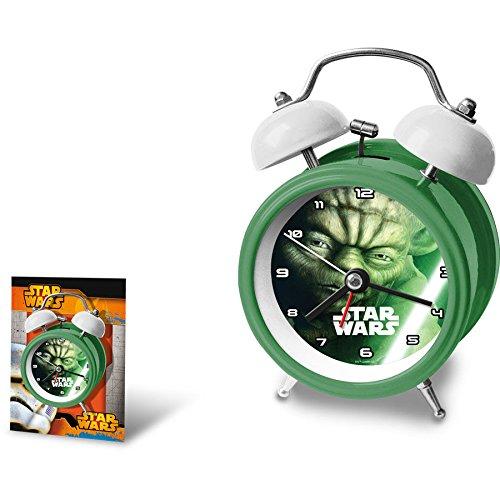 Kids Licensing Wecker Star Wars Yoda 12cm