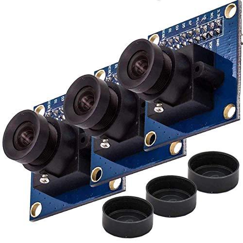 AZDelivery 3 x Kamera Module kompatibel mit Arduino OV7670 300KP VGA-Mini Arducam inklusive E-Book!
