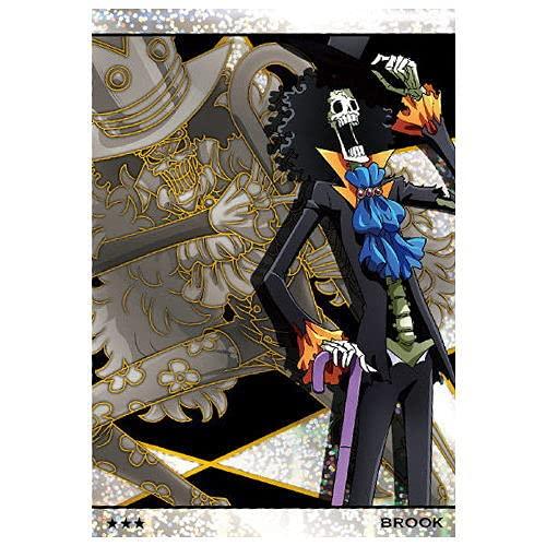 ワンピース ウエハース 第10弾 GRAND LOG [9.SR:No.10-09 ブルック](単品)※カードのみです。お菓子は付属しません。