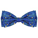 Huxley & Kent Bow Tie | Hanukkah (Extra-Large) | Hanukkah Holiday Pet Bow Tie Collar Attachment | Fun Bow Ties for Dogs | Cute, Comfortable, and Durable