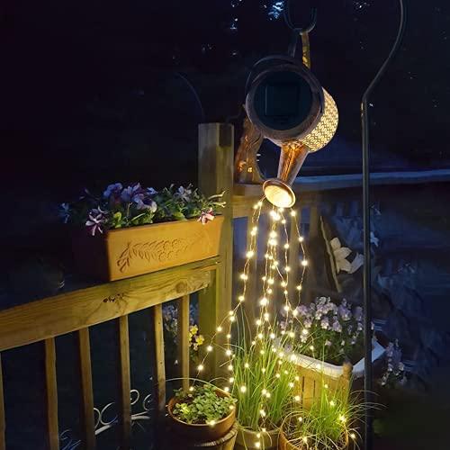 PAKOKULA Gartendeko Solarlampen für Außen, Wasserdicht Solarlampen für Außen Garten Deko, 36Pcs LED Solarleuchten für Außen, Gießkanne Gartendeko Vintage Solarleuchten Garten, Solar Gartenbeleuchtung