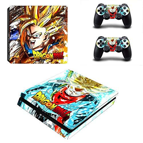 TAOSENG Dragon Ball Super Pegatina para Playstation 4 Ps4 Pegatina Delgada para...