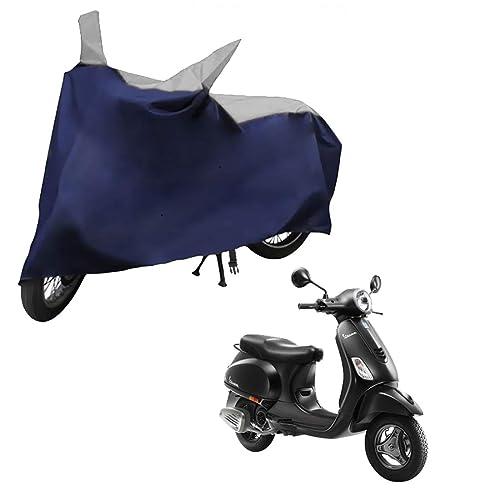 Autofurnish Mototrance Sporty Blue Bike Body Cover for Vespa Scooter