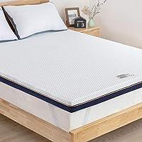 BedStory 3 Inch Memory Foam Mattress Topper