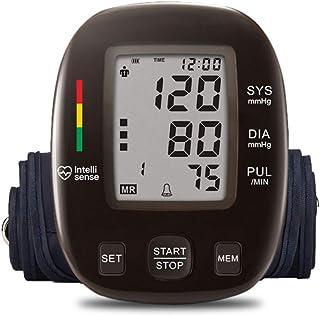 QAIYXM Sphygmomanometer - Brazalete automático Digital para Brazo Superior BP - Encogimiento rápido y Lectura diastólica - Monitor LCD Grande de 2.5