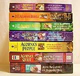 Acorna The Unicorn Girl Complete Set 7 Books (Acorna: The Unicorn Girl 2. Acorna's Quest 3. Acorna's People 4. Acorna's World 5. Acorna's Search 6. Acorna's Rebels 7. Acorna's Triumph)