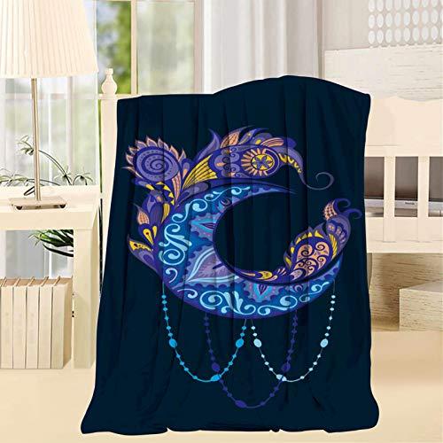168 Luna Mandala squisito disegno morbido coperta opzionale dimensioni coperte