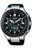 Seiko astron Herren Uhr analog Solar mit Silikon Armband SSE169J1