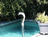 Cascáde - Fuente de agua para masaje de delfín (1 m, acero inoxidable)