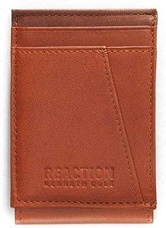 Kenneth Cole Reaction Men's RFID Front Pocket Leather Wallet