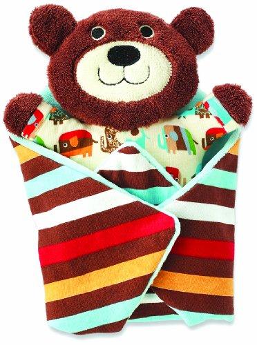 Zutano Swaddle Blanket, Bear