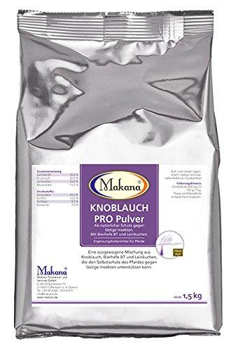 Makana Knoflook PRO met biergist en lintaart, poeder, 1,5 kg zak (1 x 1,5 kg)