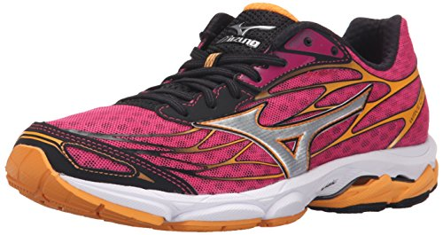 Mizuno Womens Wave Catalyst-W Wave Catalyst-w Size: 3.5 UK Fuchsia Purple Silver
