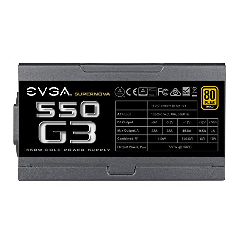 Build My PC, PC Builder, EVGA 220-G3-0550-Y1