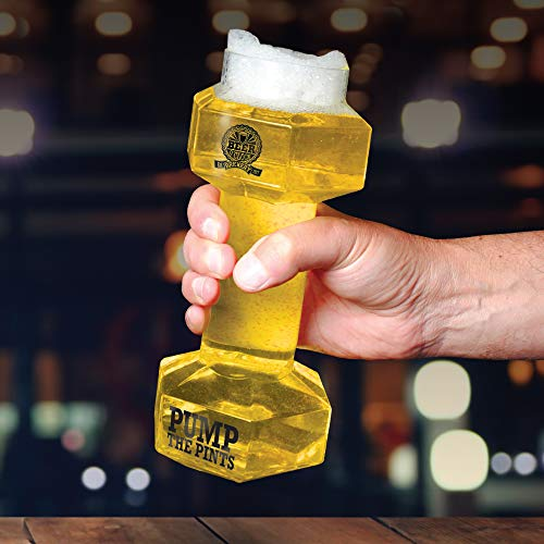 Oliphant Beer O'Clock Hantel Bierglas