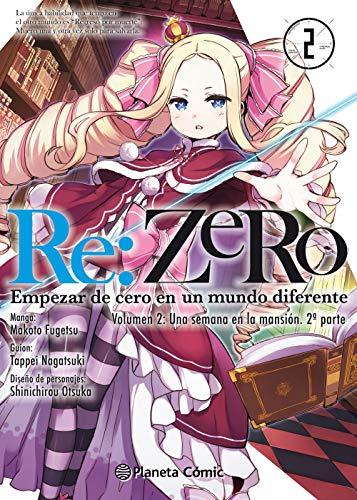 Re:Zero Chapter 2 nº 02: Empezar de cero en un mundo diferente. Volumen 2: Una semana en la mansión. 1ª parte (Manga Shonen)