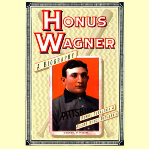 Honus Wagner audiobook cover art
