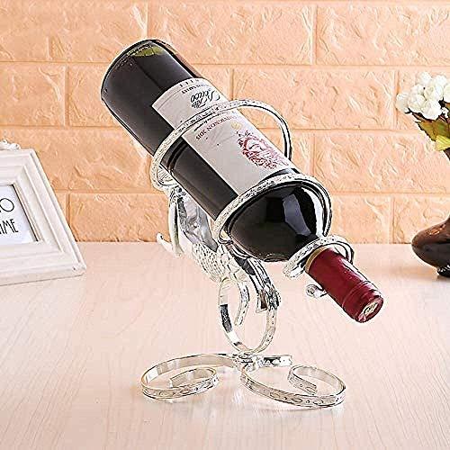 JJ0226 Vino europeo sirena sirena vino estante nórdico casero accesorios sala de estar accesorios para la casa gabinete de vino de escritorio interior de la cocina Decoraciones de arte artesanía Funci