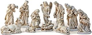 11 Piece Nativity Set - 8 Inches