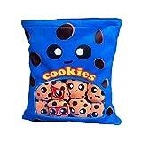 Cuscino per snack con soffio di biscotti - Cuscino avvolgente a...