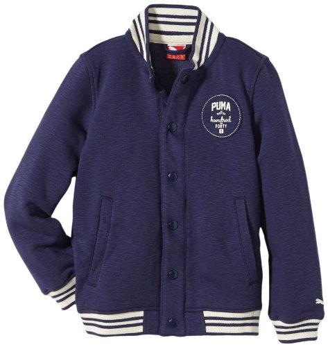 PUMA Jungen Jacke Baseball Jacket, Patriot Blue, 152, 826901 02